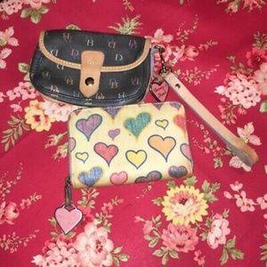 Lot of Multicolor Authentic Dooney & Bourke wallet